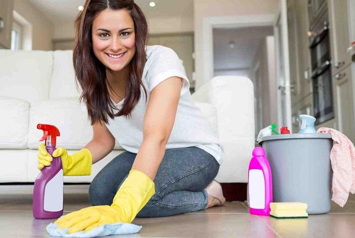 Gündelik Temizlikçi Kadın